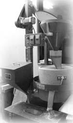 石臼製粉機